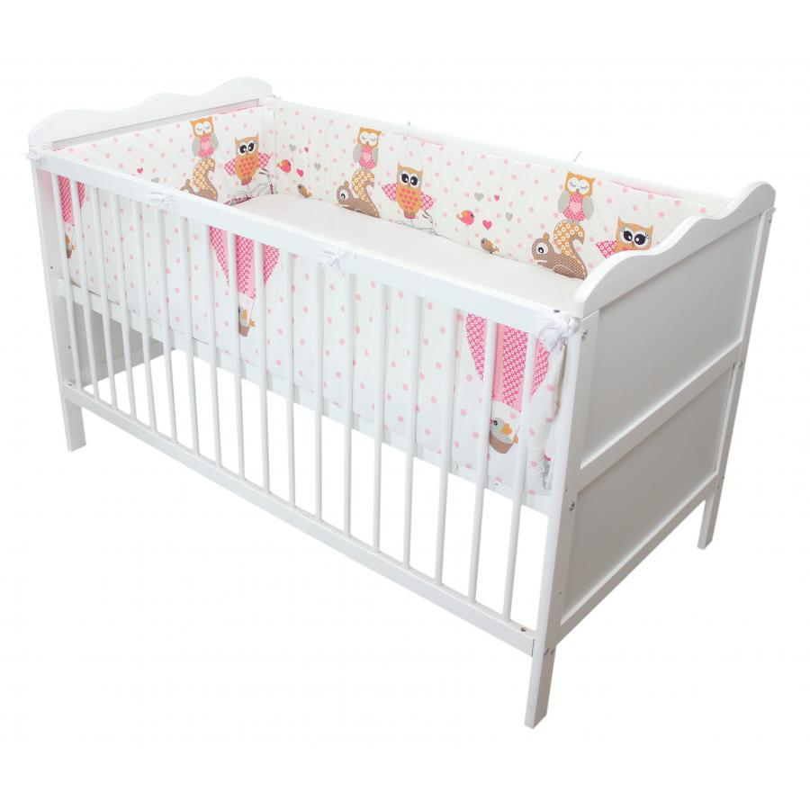 babybett nestchen bettumrandung nest kopfschutz 70x140 und 60x120 ebay. Black Bedroom Furniture Sets. Home Design Ideas