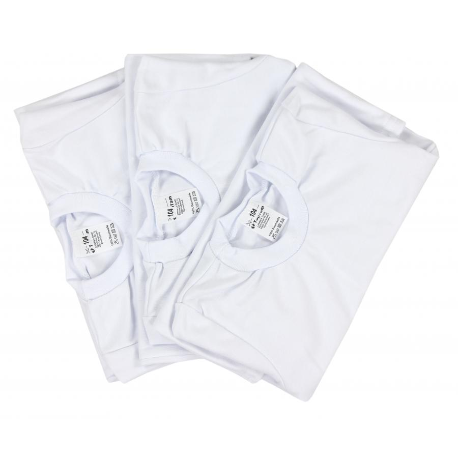 TupTam Kinder Unisex Unterhemd Langarm 3er Pack