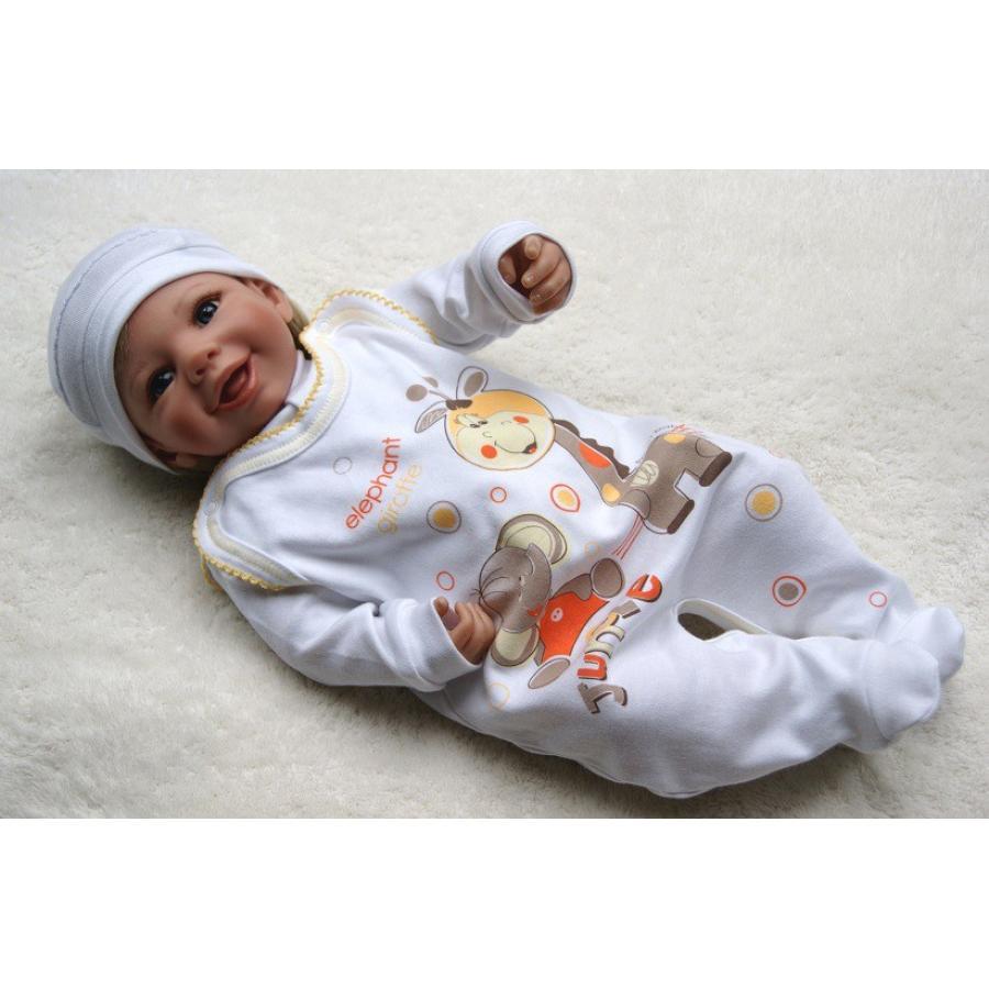 TupTam Unisex Baby Strampler mit Aufdruck 5er Set