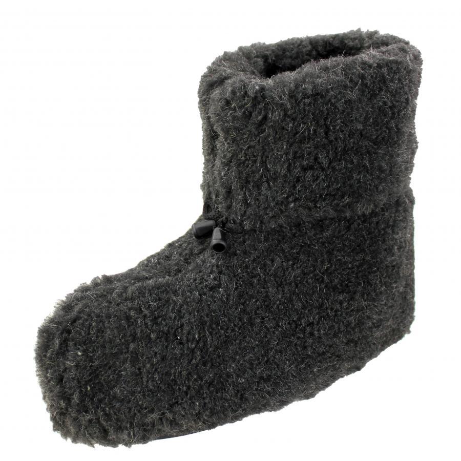 warme h ttenschuhe herren hausschuhe damen winter pantoffeln haus stiefel ebay. Black Bedroom Furniture Sets. Home Design Ideas