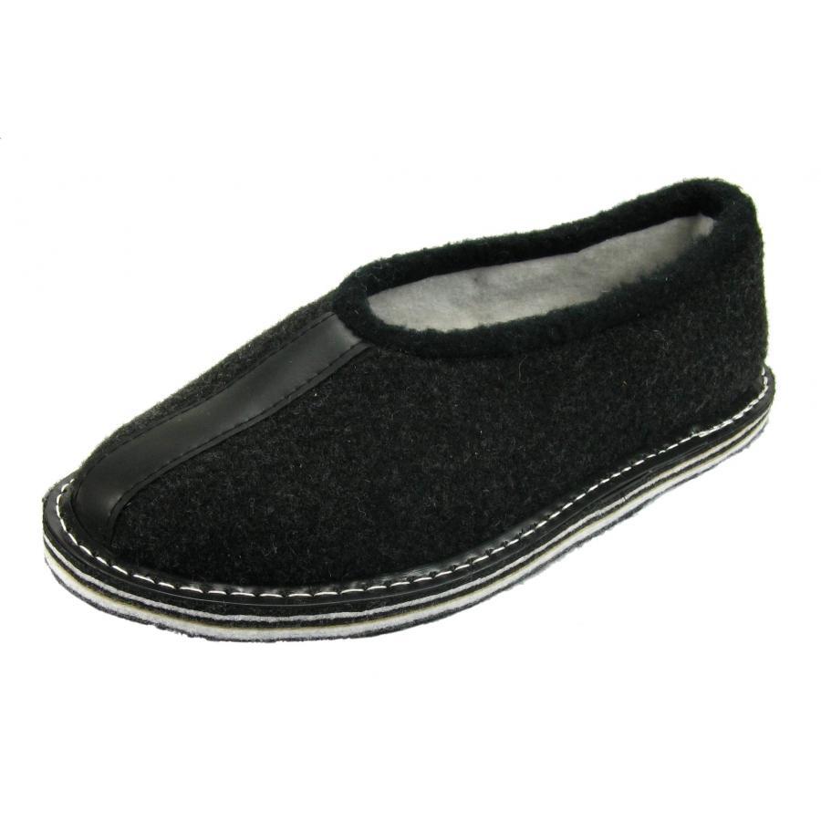 filzpantoffeln filz hausschuhe h ttenschuhe gummisohle pantoffeln filzhausschuh ebay. Black Bedroom Furniture Sets. Home Design Ideas