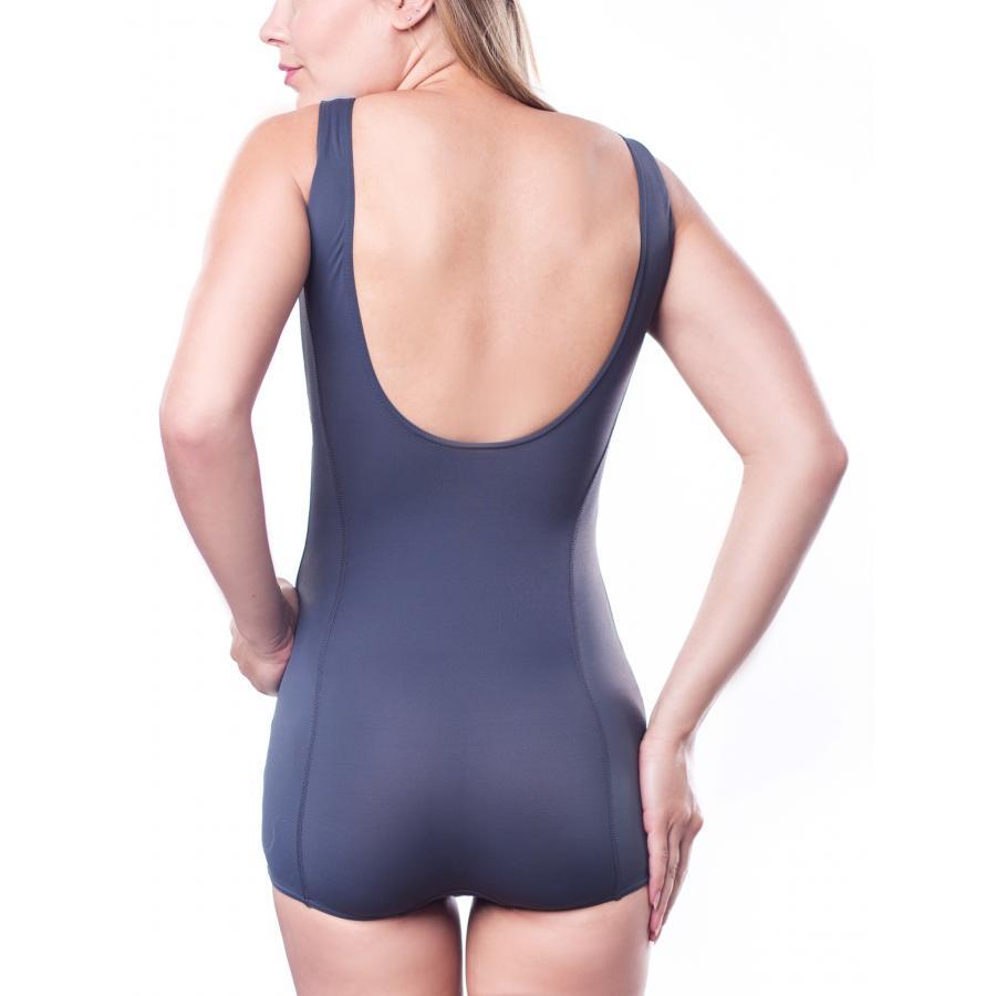 aquarti damen badeanzug mit bein schwimmer sport. Black Bedroom Furniture Sets. Home Design Ideas