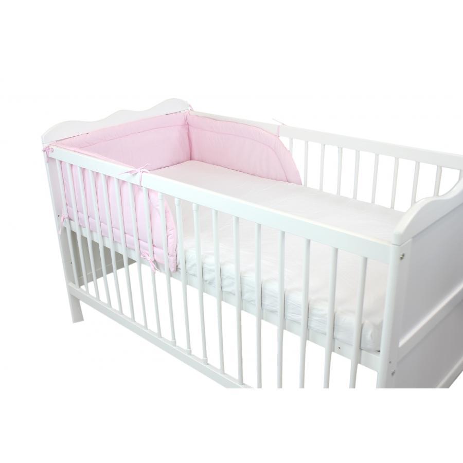 nestchen baby kopfumrandung babybett 70x140 nest kopfschutz bettnestchen ebay. Black Bedroom Furniture Sets. Home Design Ideas