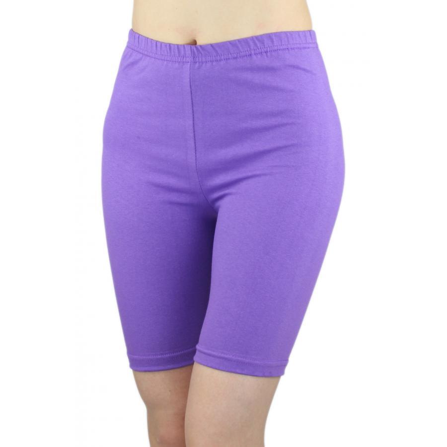 6729e639d234 ... Radlerhose Damen Sport Shorts Baumwolle Hotpants Kurze Leggings Bunte  Farben ...